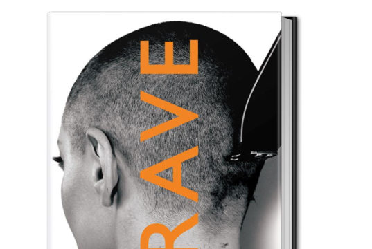 Rose McGowan book cover for BRAVE. Photo provided.