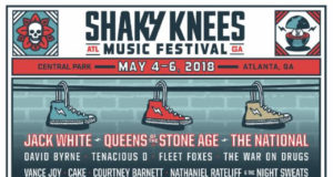 Shaky Knees Music Festival lineup. Photo provided.