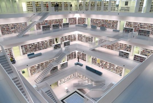 A library structured for machine learning. Photo by: Pexels.com