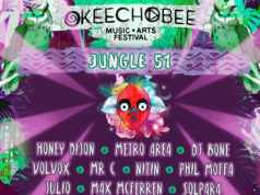 Okeechobee Music Festival JUNGLE 51 lineup. Photo provided.