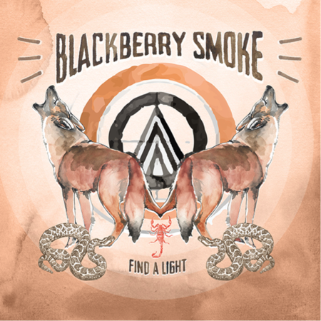 Blackberry Smoke 'Find A Light' album cover. Photo provided.