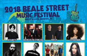 Beale Street Music Festival 2018 lineup. Photo by: Beale Street Music Festival