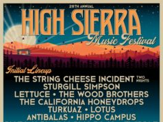 High Sierra Music Festival 2018 initial lineup. Photo by: High Sierra Music Festival