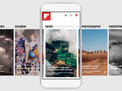Flipboard Magazine app overview. Photo by: Flipboard