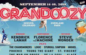 Grandoozy 2018 lineup. Photo by: Grandoozy
