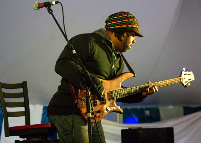 Victor Wooten performing at Summer Camp Music Festival 2013. Photo by: Matthew McGuire