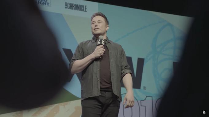 Elon Musk at SXSW 2018. Photo by: SXSW / YouTube