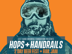 Left Hand Brewing Company hosts Hops and Handrails. Photo provided.