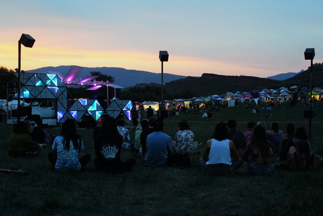 Sunset at the Eagle Stage. Photo by: Samantha Harvey