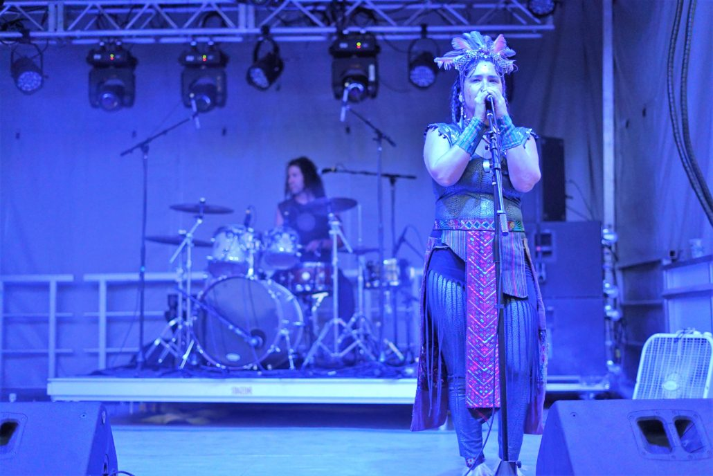 Lunar Fire on the Green Tree Stage. Photo by: Samantha Harvey