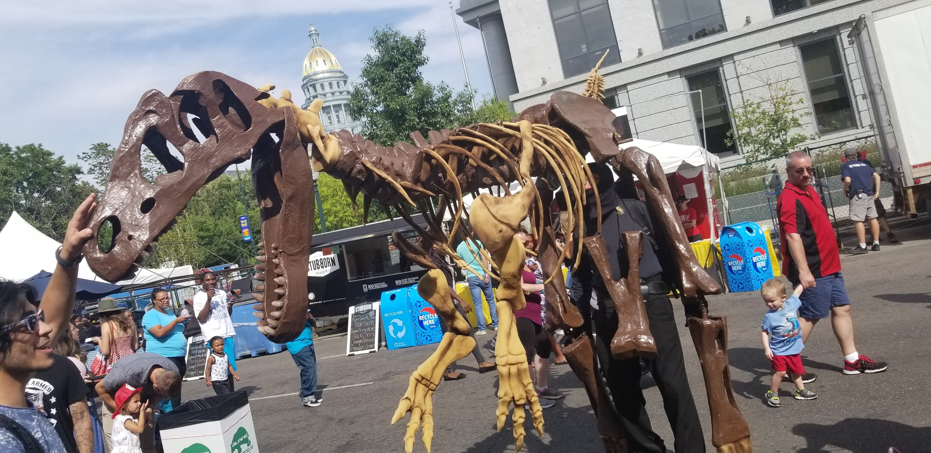 Taste of Colorado 2018 in downtown Denver on Sunday, September 2. Photo by: Matthew McGuire