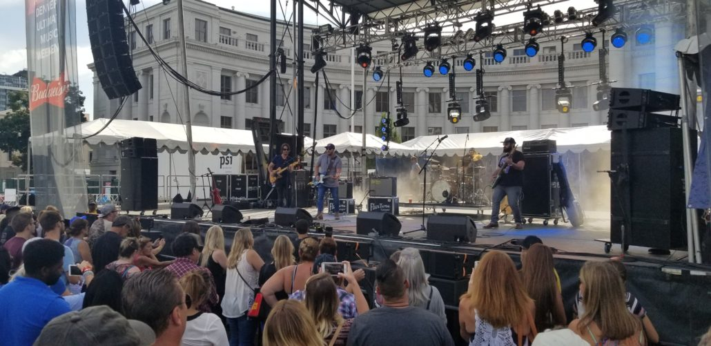 Mitchell Tenpenny at A Taste of Colorado 2018 in downtown Denver on Sunday, September 2. Photo by: Matthew McGuire
