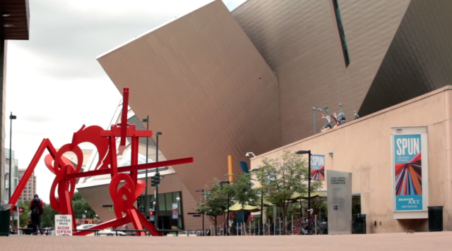 Denver Art Museum. Photo by: Denver Startup Week / YouTube