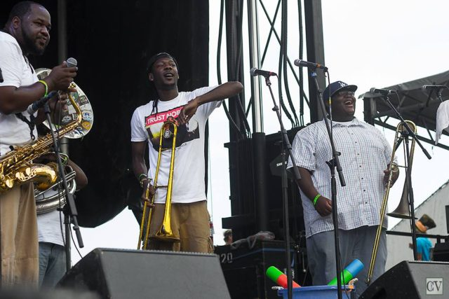 The Soul Rebels at the 2013 All Good Music Festival. Photo by: Matthew McGuire