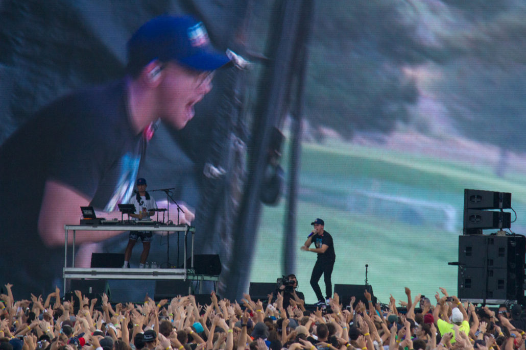 Logic at Grandoozy 2018. Photo by: Matthew McGuire