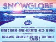 SnowGlobe Music Festival 2018 lineup. Photo provided.