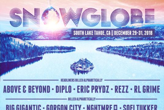 SnowGlobe Music Festival 2018 lineup. Photo provided.