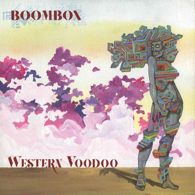 Cover artwork for 'Western Voodoo' by BoomBox. Photo provided.