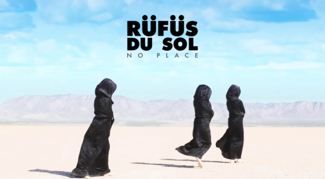 RÜFÜS DU SOL album cover for 'SOLACE.' Cover art by Le Fawnhawk. Photo by: RÜFÜS DU SOL / YouTube