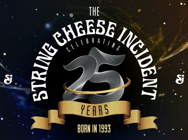 The String Cheese Incident 25th anniversary promotional material. Photo by: The String Cheese Incident