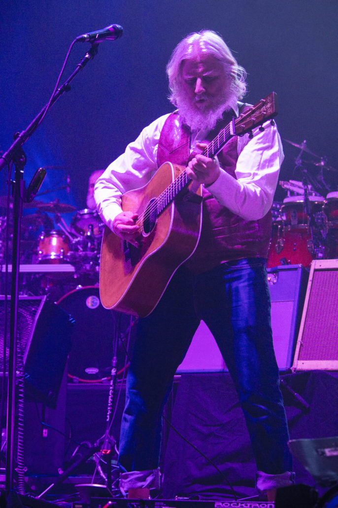 Billy Nershi performing at the 1st Bank Center in Broomfield, Colorado. Photo by: Matthew McGuire