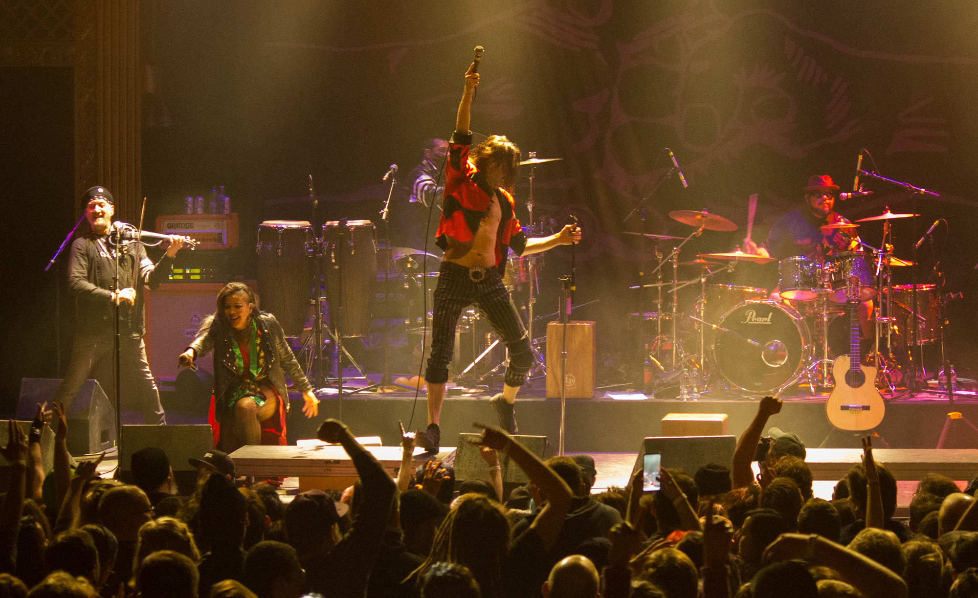 Gogol Bordello Brought the Ruckus to the Ogden Theatre During their NYE Tour in Colorado