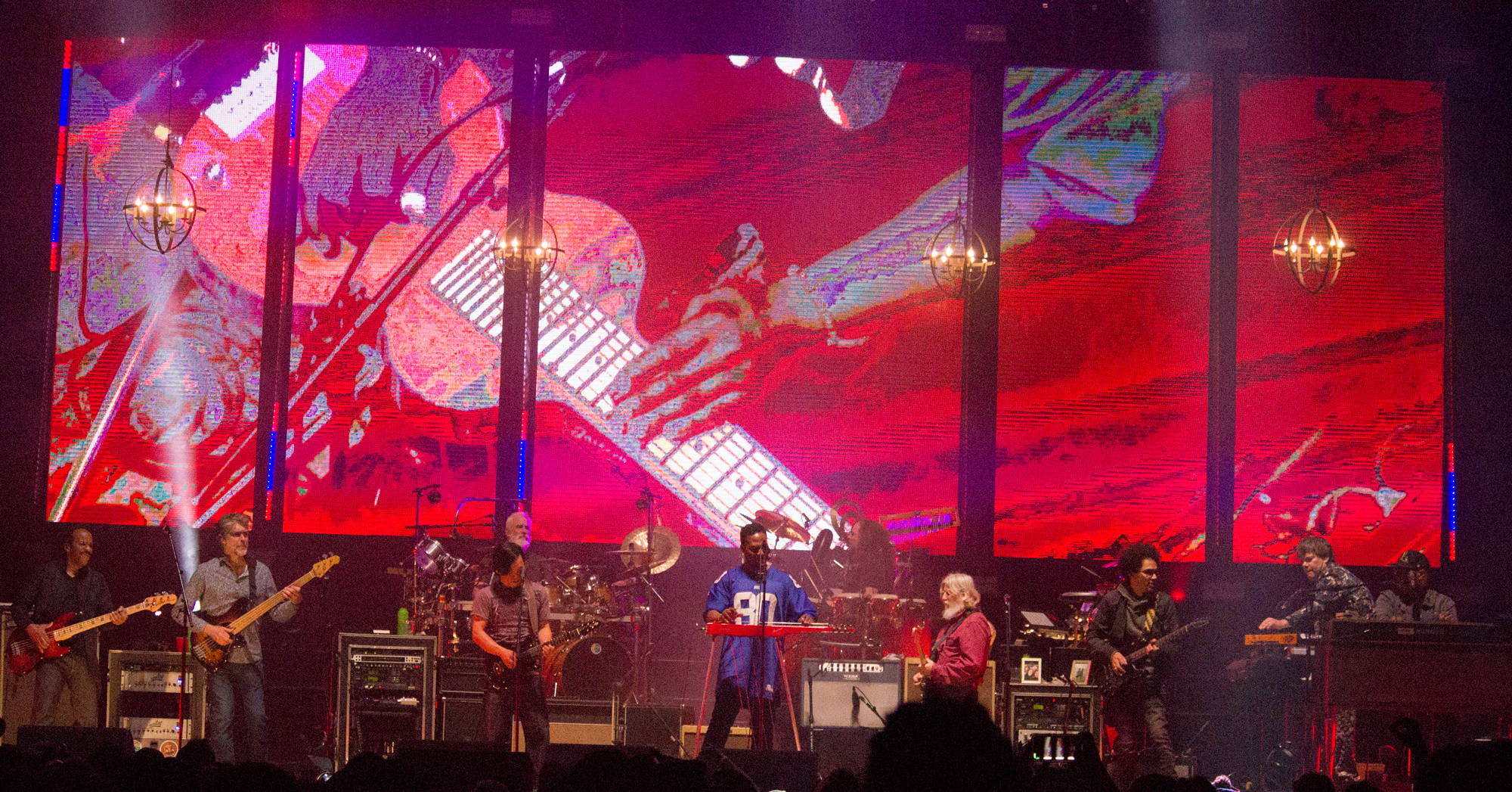 The String Cheese Incident Hosted a New Orleans Themed Jam Session on Saturday at the 1st Bank Center