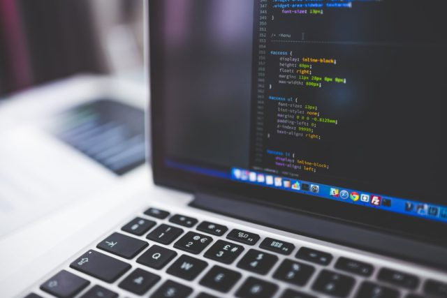 Computer programming on a laptop. Photo by: Pexels.com