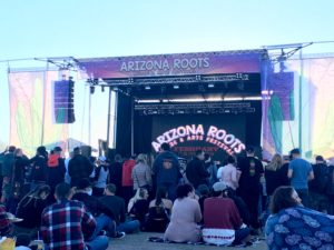 Arizona Roots Music & Arts Festival atmosphere. Photo taken by Marissa Novel in Chandler, Arizona.